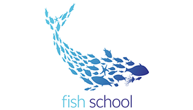 Fish School Logo