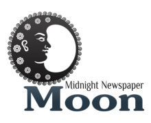 Moon Newspaper Logaster Logo