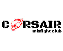 Corsair Mix Fight Logaster logo
