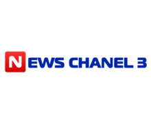News Chanel 3 Logaster Logo