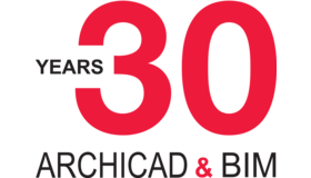 Archicad And Bim 30 Years Logo
