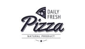 Daily Fresh Pizza Logo