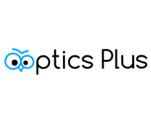 Optics Plus Logaster logo