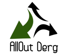 All Out Derg Logaster Logo