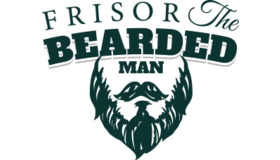 Frisor Bearded Man Logo