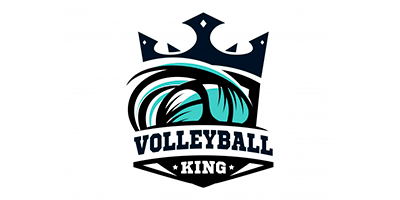 Volleyball King Logo